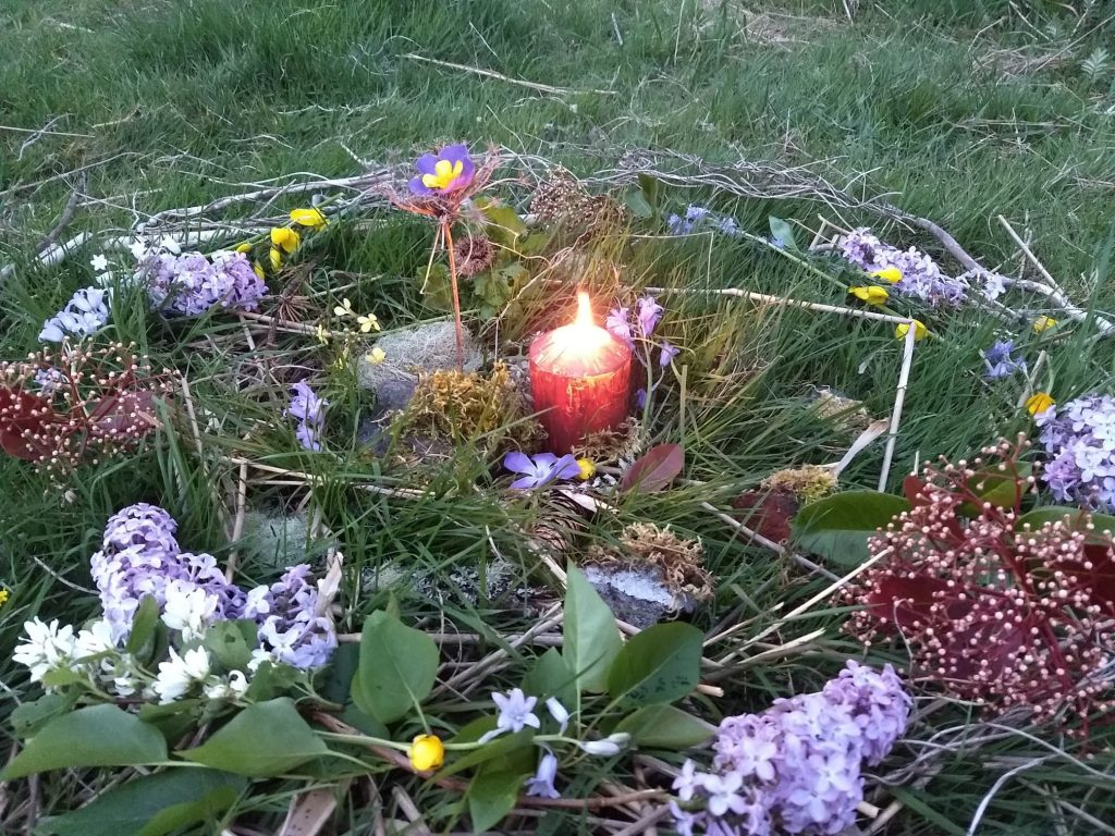 healing nature mandala